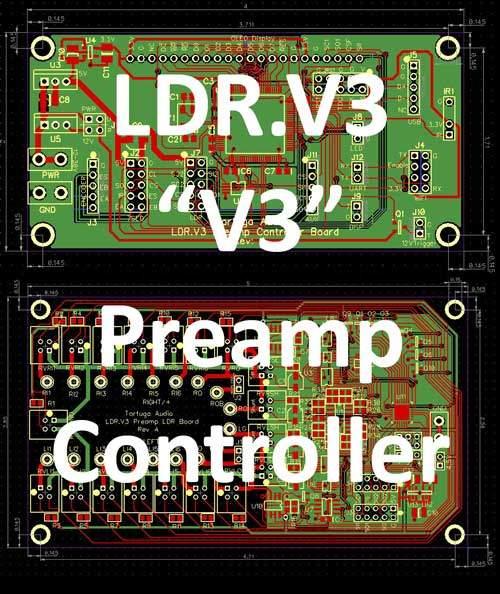 LDR.V3 preamp controller graphic