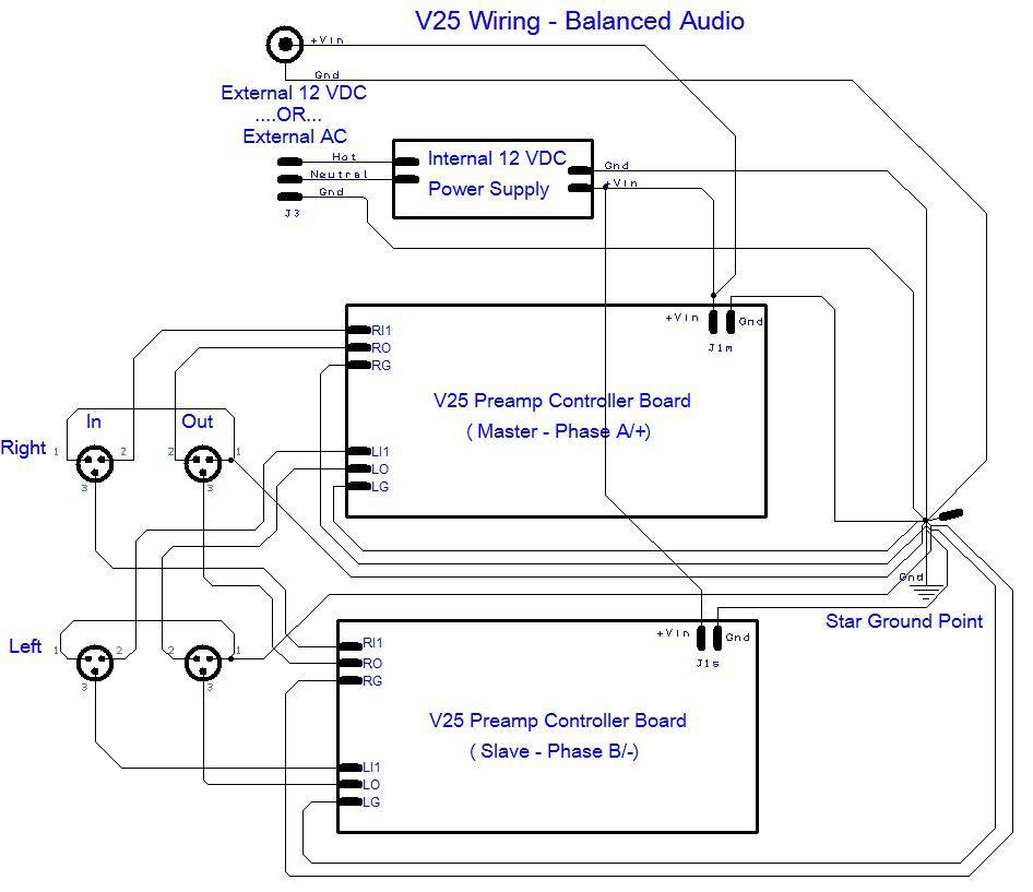balanced xlr wiring diagram balanced audio wiring diagram v25 balanced audio wiring   tortuga audio #3