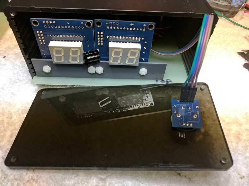 V25 preamp kit - front panel install