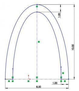 boathull speaker dimensions