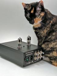 TPB.V1 tube buffer with pretty cat