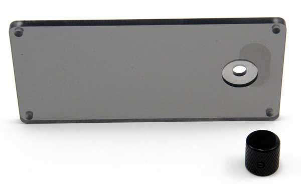 LDR3.V2K kit front panel with knob