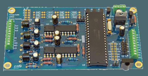 LDR3x DIY Preamp Controller Board