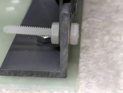 OLED mounting bracket