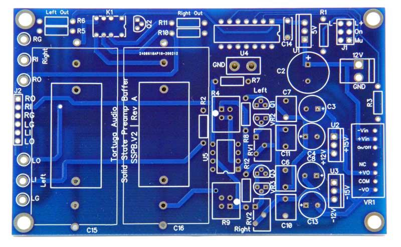 sspb.v2 solid state buffer kit bare circuit board