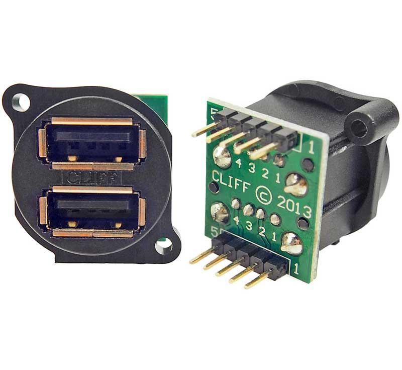 Dual XLR USB Port