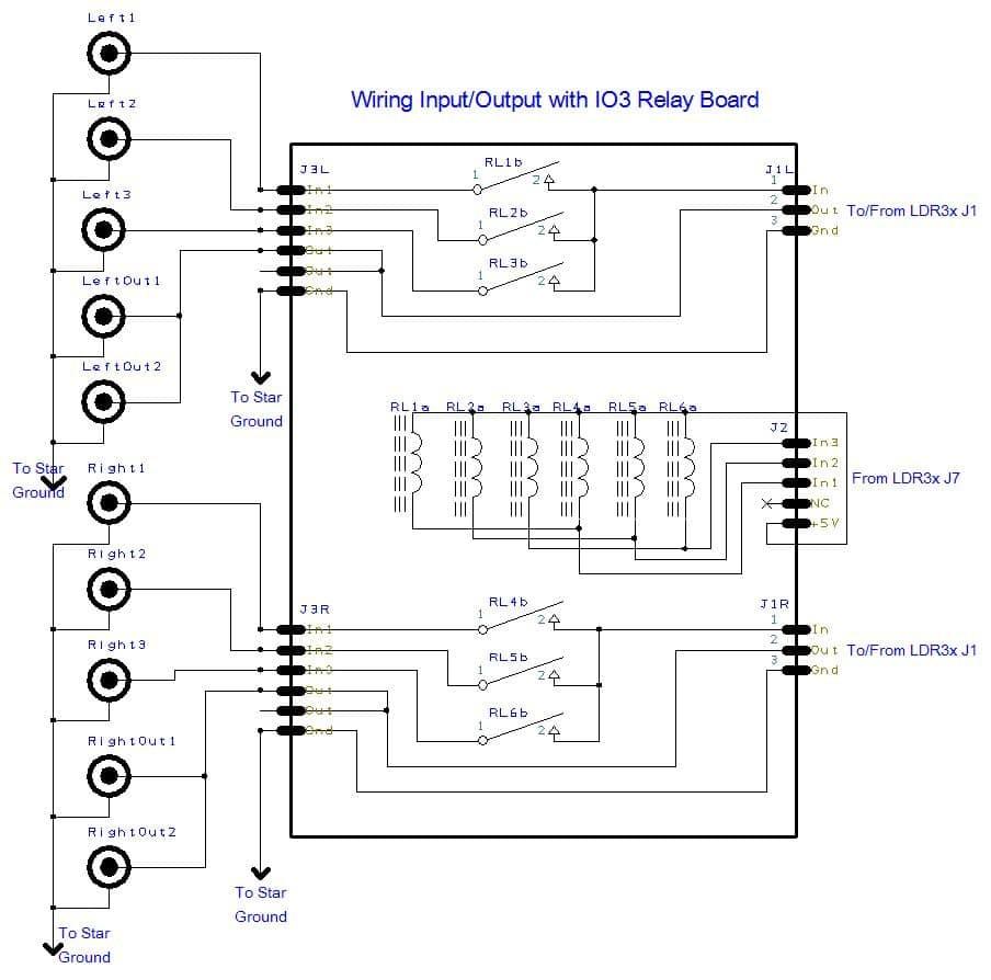 wiring tortuga audio